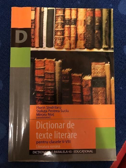 Dictionar de texte literare clasele 5-8