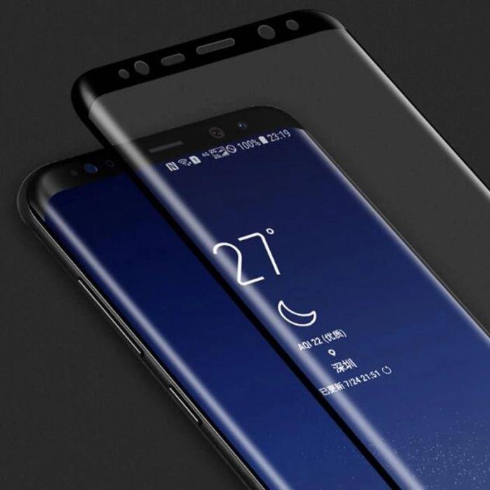 3D Стъклен протектор за Samsung Galaxy S8 / S8+ / S9 S9+ Note 8 S7 S6