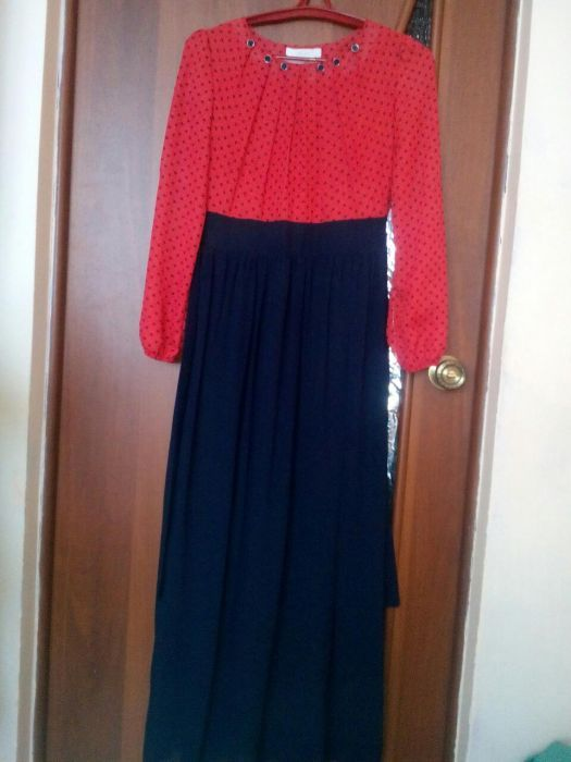 Турецкое длинное платье(хиджаб)