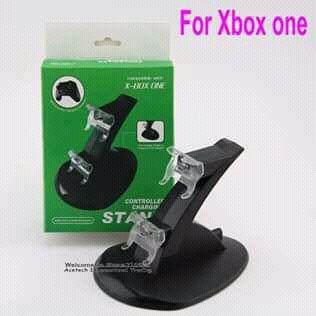 Suporte Duplo e Carregador Para Joysticks do Xbox One