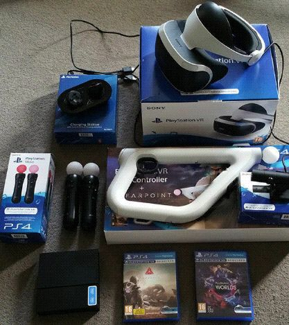 Ps4 Pro Virtual VR