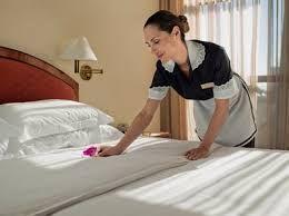 Arrumamos e limpamos os quartos do teu hotel