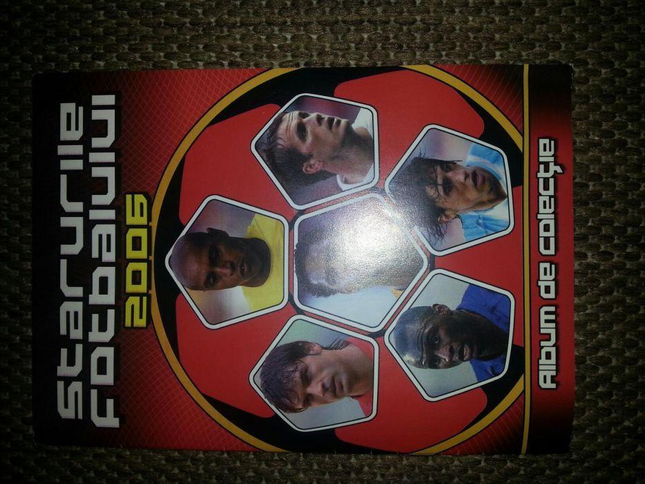 Album starurile fotbalului 2006 de colectie