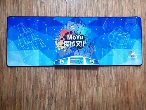 Комплект Таймер и мат от Moyu для кубика Рубика