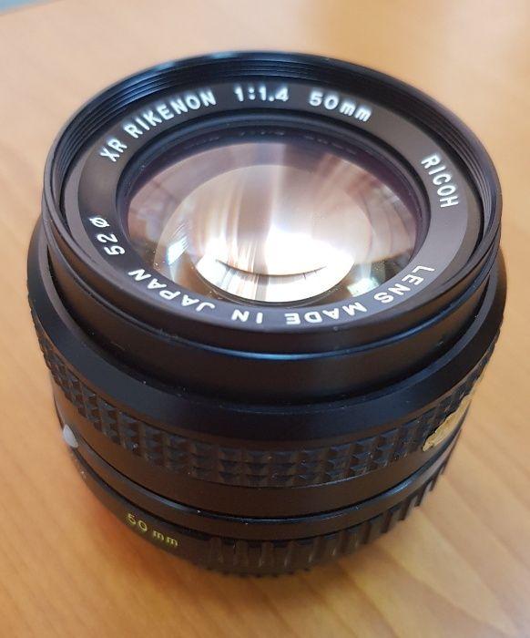 Rikenon 50mm f1.4 pentru Pentax K