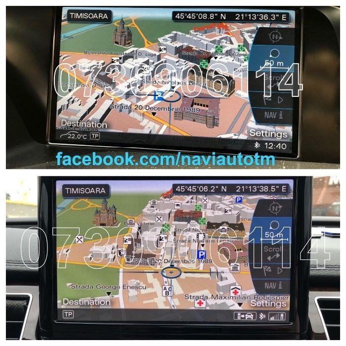 Harta Navigatie Audi MMI 3G Basic High + HDD 2019 A4,A5,A6,A8,Q3,Q5,Q7
