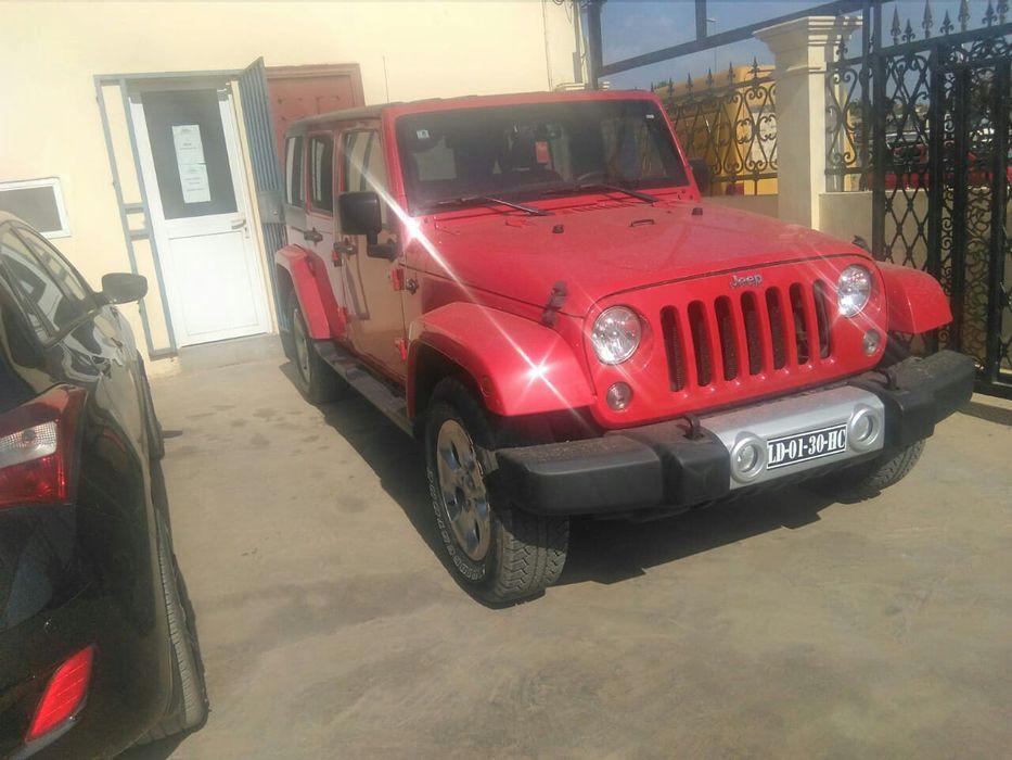Jeep Wrangler a venda