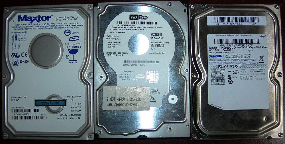 Vind HDD IDE si S-ATA pentru desktop