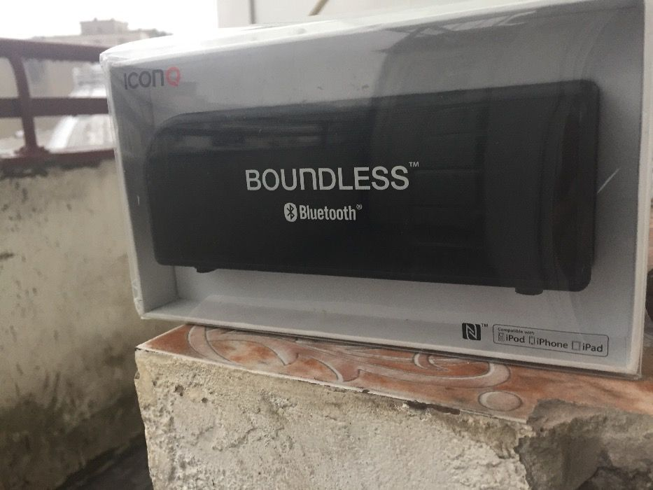 Boxa Portabila I Con Q - Boundless S4 Bluetooth - Promo!!