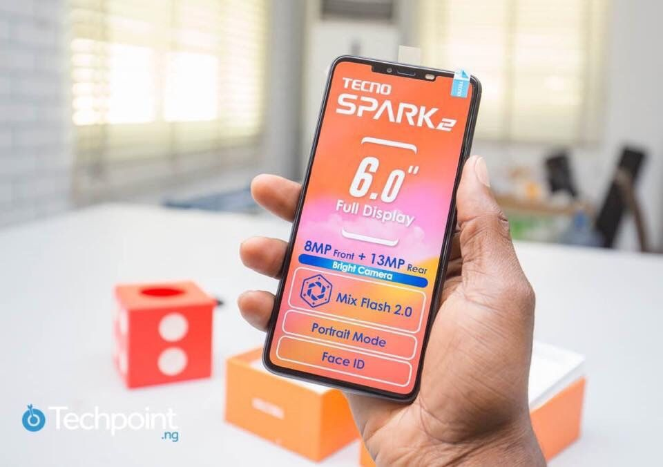Tecno Spark 2 na caixa selado , um ano de garantia