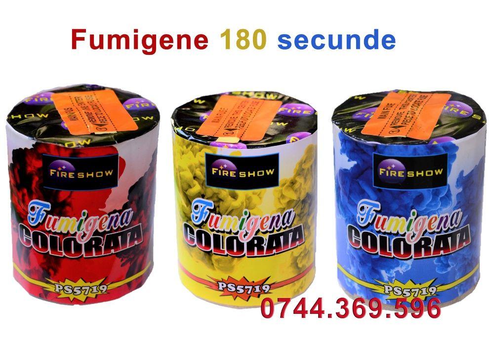 Fumigene Colorate minim 180 sec. ROSU GALBEN ALBASTRU
