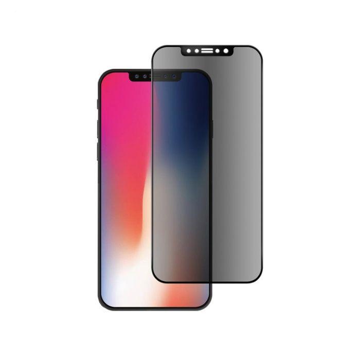 Iphone X XS 10 - Folie Sticla Securizata Curbata 5D Privacy
