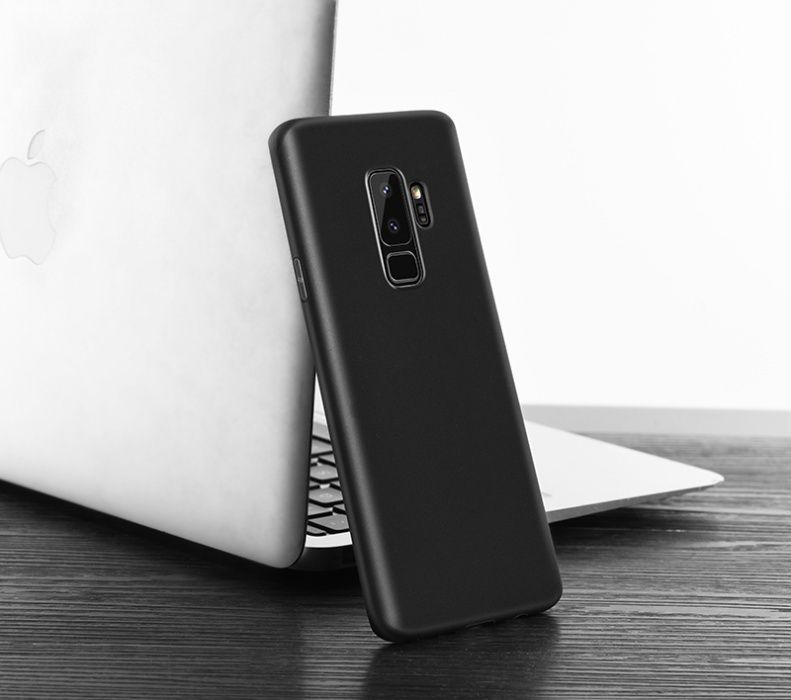 Husa slim mata, TPU fin si moale Hoco, Samsung Galaxy S9, negru
