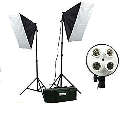Softbox 50x70cm cu 4 socluri E27, Studio, Videochat, Oglinda Magica Bucuresti - imagine 3