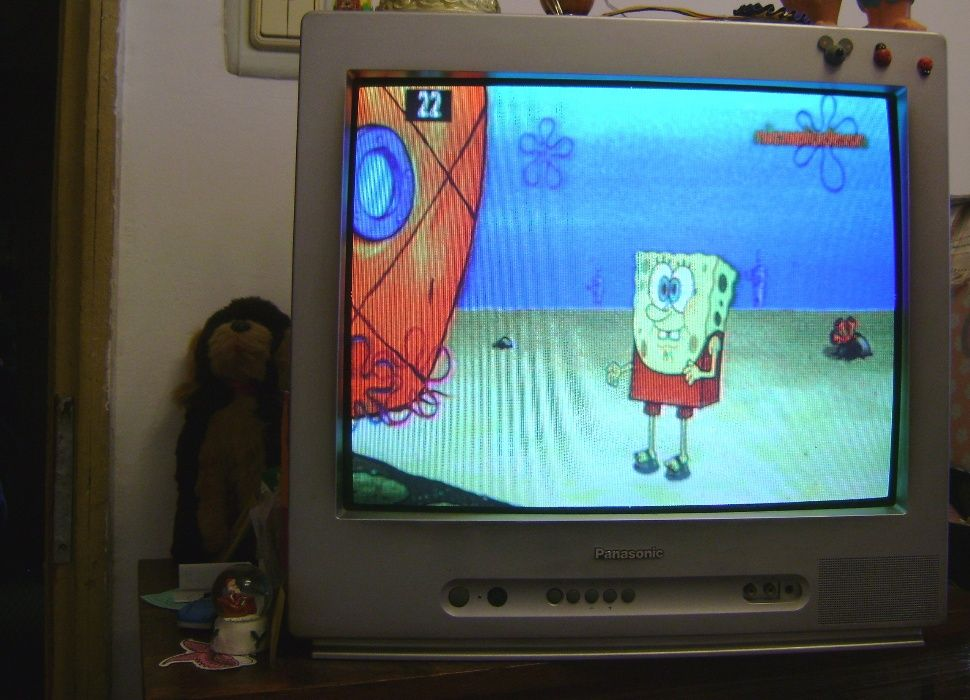 Televizor Panasonic color, stare perfectă
