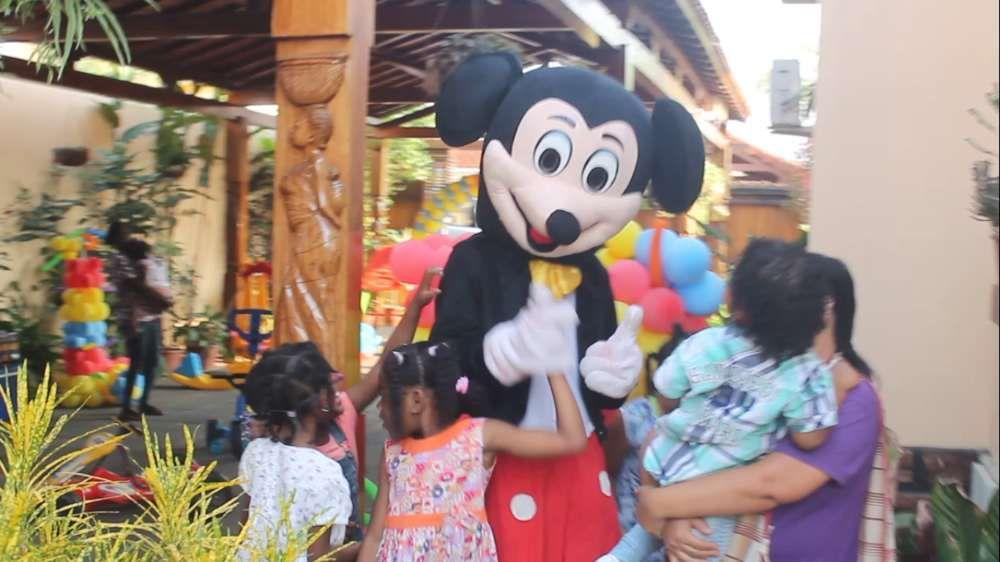 Mickey para animar sua festa