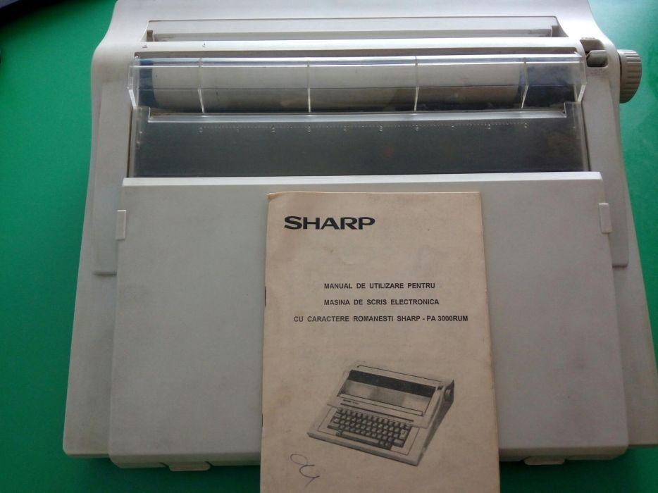 Vand masina de scris SHARP