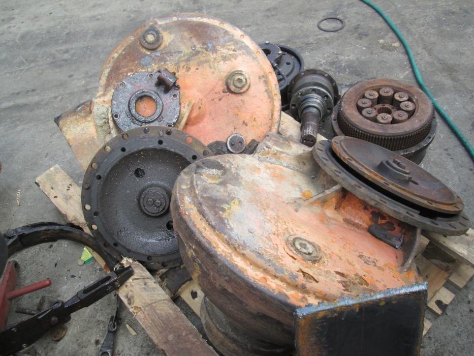 Reductor de buldozer Hanomag K7 .