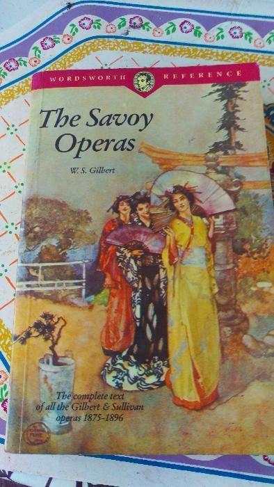 Carte W S Gilbert The Savoy Operas limba engleza