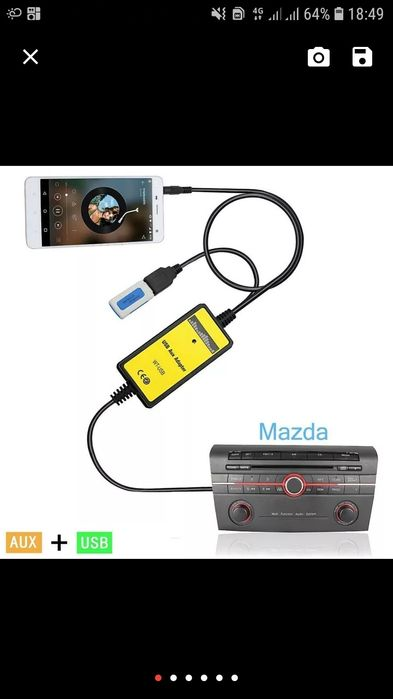 Mp3 player para Mazda Axela/3