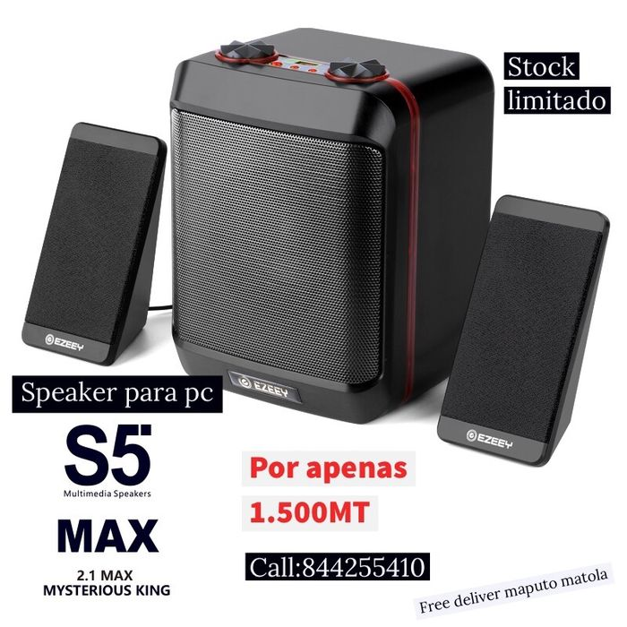 S5 speaker for pc /entrada auxiliar