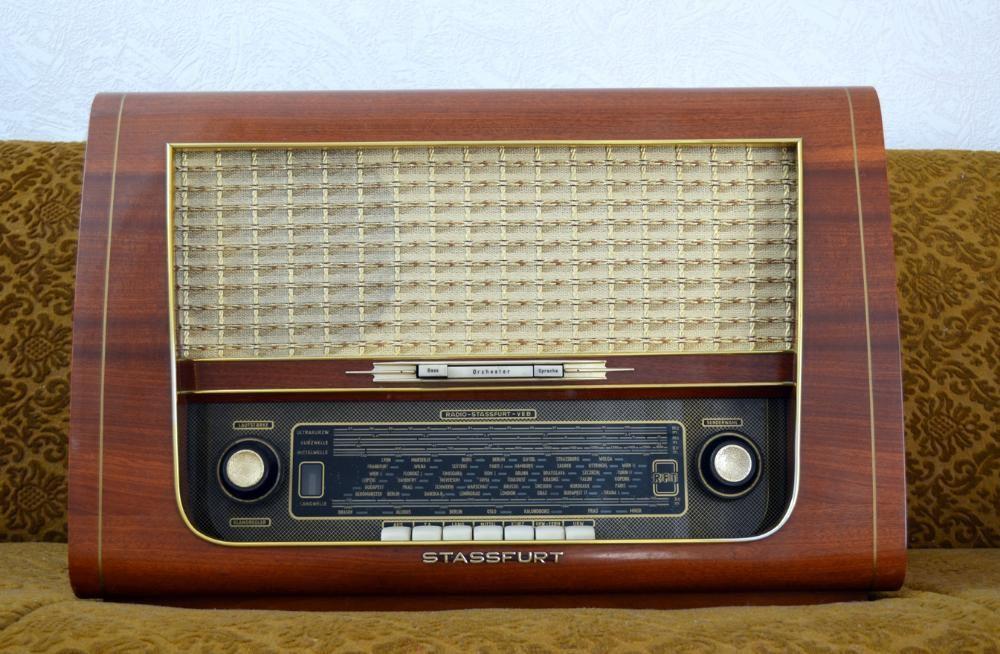 Уникално Ретро Радио Stassfurt