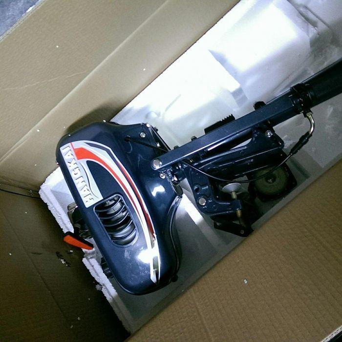Мотор лодочный 2х тактный HANGKAI 3.5л