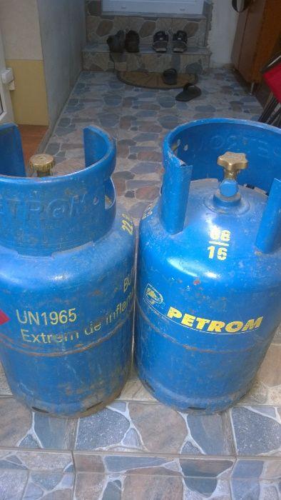 Vand butelie aragaz PETROM STAS cu guler