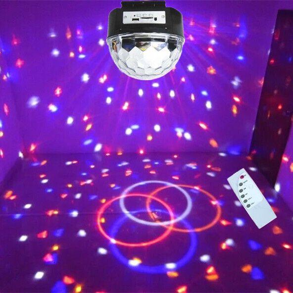 Glob Disco Jocuri de Lumini MP3 Player si Telecomanda-NOU