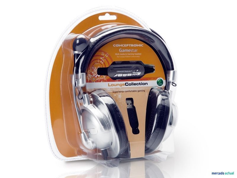 Auricular Gamestar USB Concetronic Louge collection