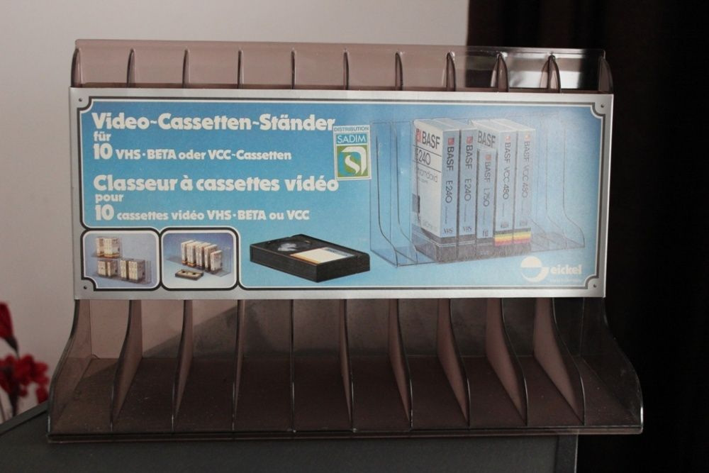 Suport 10 Casete Video VHS