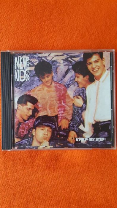 CD New Kids on the Block-Step by Step