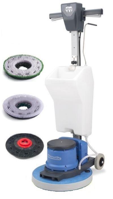 Еднодискова машина за почистване, пране и полиране 230 оборота
