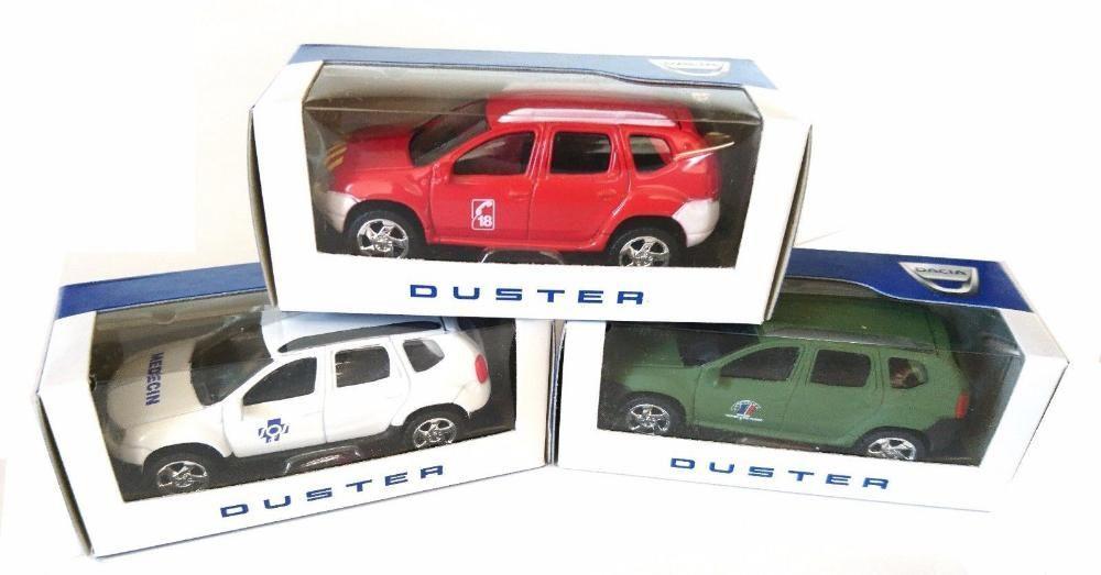 Set 3 machete Dacia Duster Militara + Ambulanta Medic + Pompieri