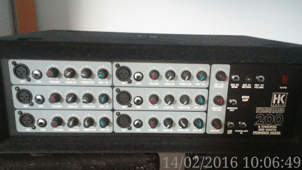 Amplificator HK Audio 200 wati