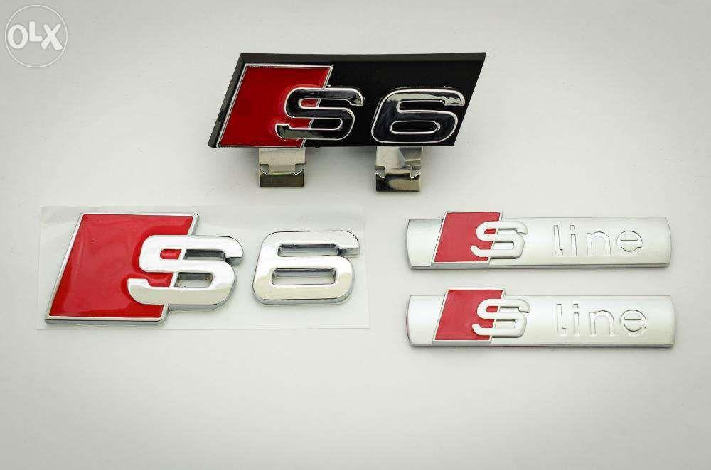 Set Embleme Audi A6/S6-line s-line