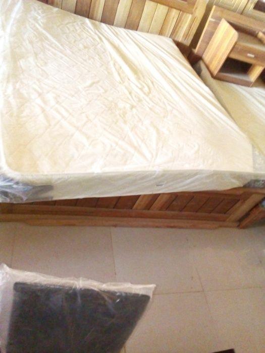 Colchão de mola casal king Size Smart flex white de 2metros por 180