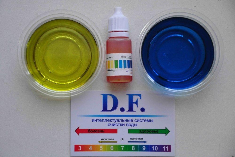 Лакмусовая бумага - жидкий индикатор pH