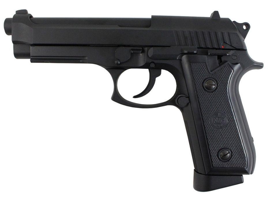 Pistol Airsoft (MODIFICAT!) Co2 Semi-Auto din FIER si ABS