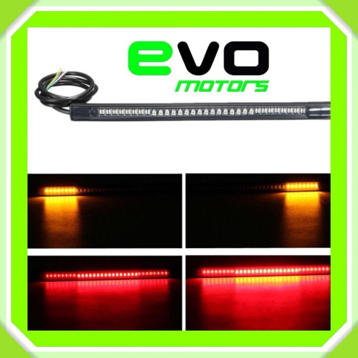 Stop LED Banda Flexibil semnalizari MOTO Atv Chooper cafe racer A052