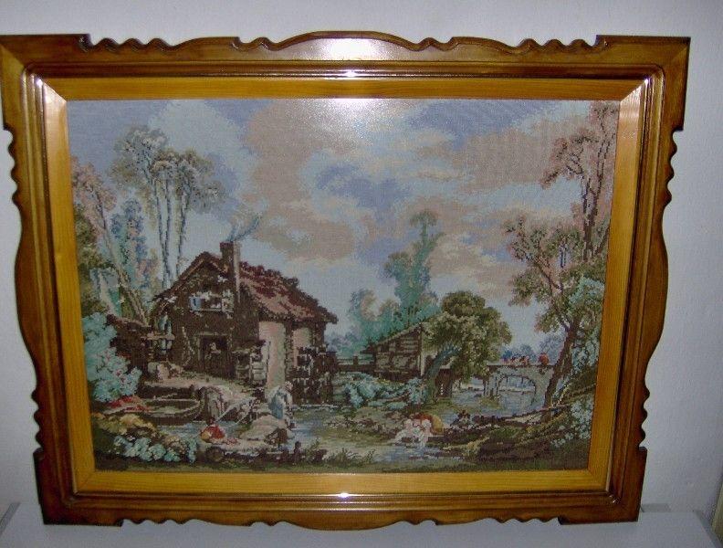 Гоблен-Воденицата на Буше гоблен картина изкуство гоблени картини