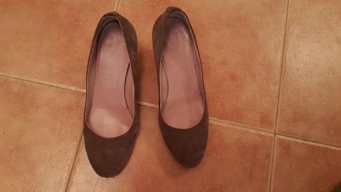 Дамски обувки от велур 39 номер