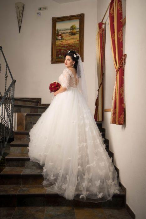 Rochie de Mireasa Superba (marimea 40)