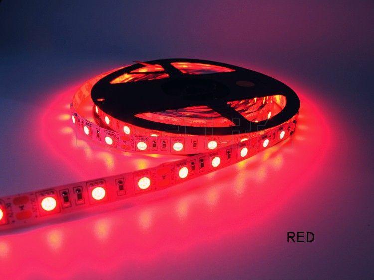 Свето-диодная LED лента SMD цвет КРАСНЫЙ 12 вольт и есть др. варианты