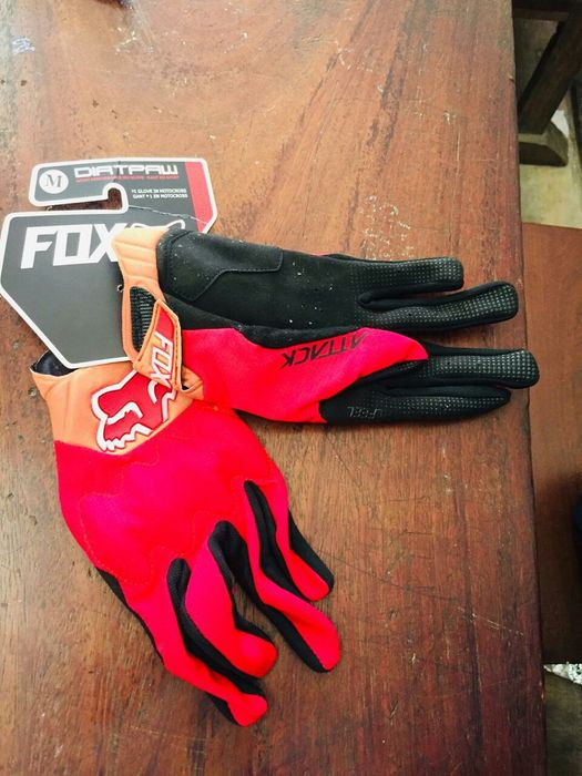 Luvas Fox: Motocross