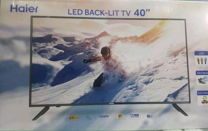 """TV Plasma Haier 40"""" LED 1 ano de garantia"""