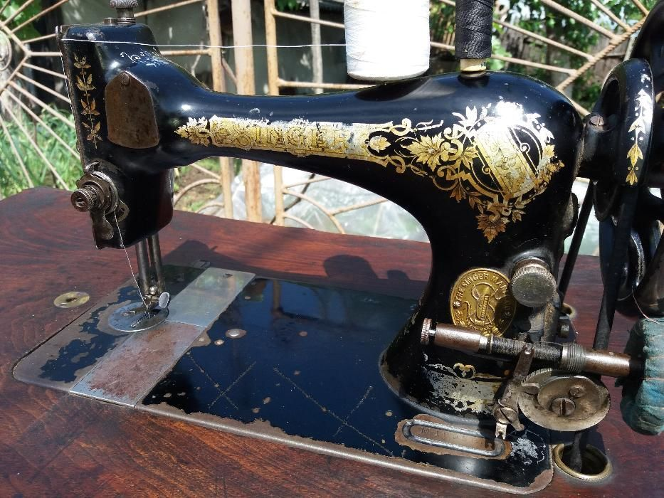 Vand masina de cusut Singer completa si functionala din 1914 seriaM