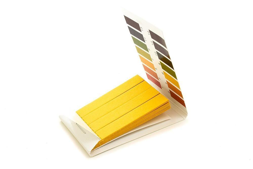 Лакмусовая (индикаторная) бумага для определения pH. 1-14