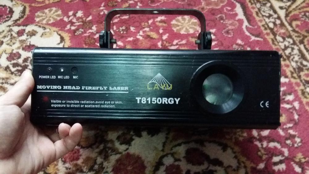 Laser Layu T8150 RGY #lumini disco