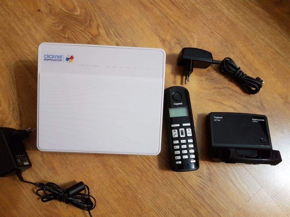 Vand pachet router si telefon